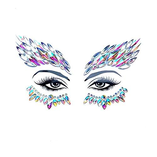 Neva Nude Mystique Crystal BodiStix In Your Face Edition -