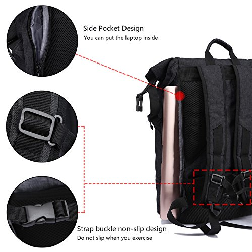 Well Wreapped Loiee Anti Theft Backpack, Yoga Fitness Exercise Sport Backpack  With Shoe Storage
