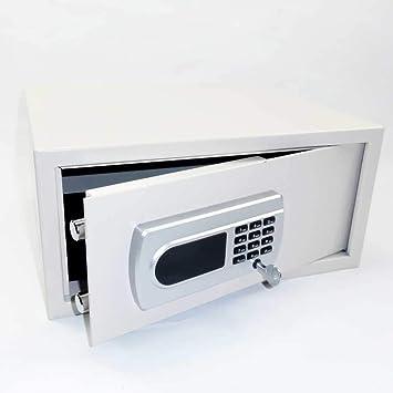Caja Fuerte Hotel Safe Caja fuerte - Afeitadora. Candado - Botón Código Master + User - 35 L: Amazon.es: Bricolaje y herramientas