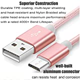 2 pack Charge Sync Data Micro USB Cable for Kindle, 5FT Fast High Speed USB 2.0 A Male to Micro B for Amazon Kindle Fire, HD, HDX,Kindle Paperwhite Voyage Oasis Tap Fire Phone Playstation 4 Xbox One