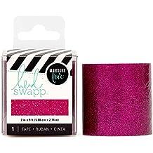 American Crafts Heidi Swapp Lightbox Pink Glitter 2 Inch 3 Yards Tape