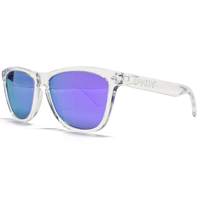 Oakley Frogskins Pulido Gafas De Sol Wayfarer Clara Con ...