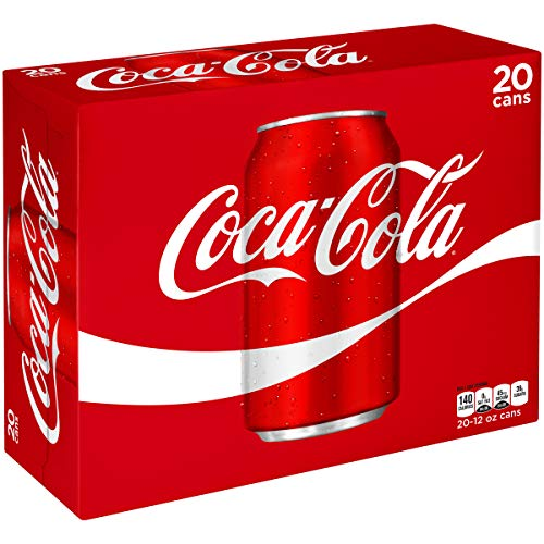 Coca-Cola Soda Soft Drink, 12 fl oz, 20 Pack ()