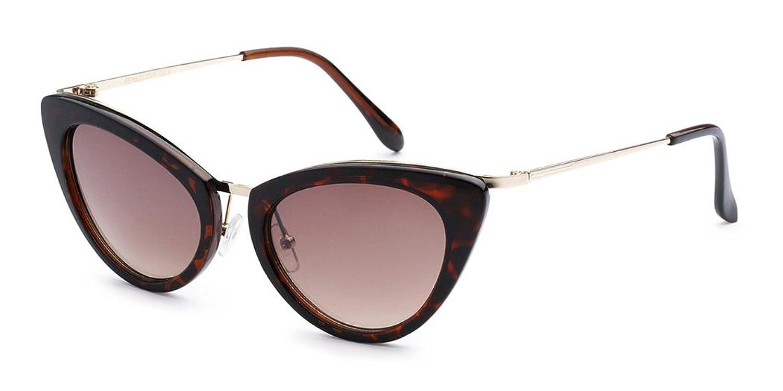 Cat Eye High Pointed Women's Retro Fashion Sunglasses