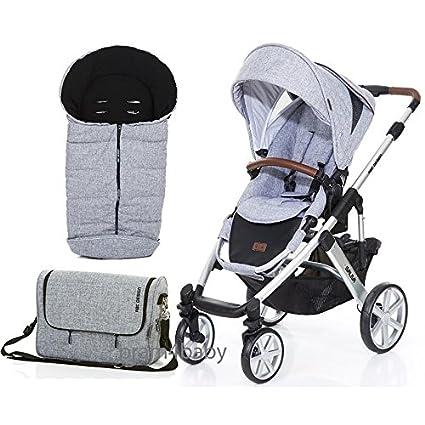 ABC Design Salsa 4 bolso cambiador y saco y carrito de ruedas ...