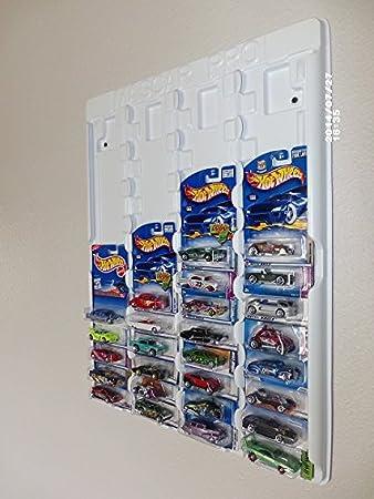 Mascar Pro Hotwheels, Caja de cerillas 1/64 a Escala, Color Blanco con Cubierta Antipolvo Transparente para hasta 52 Coches.: Amazon.es: Juguetes y juegos