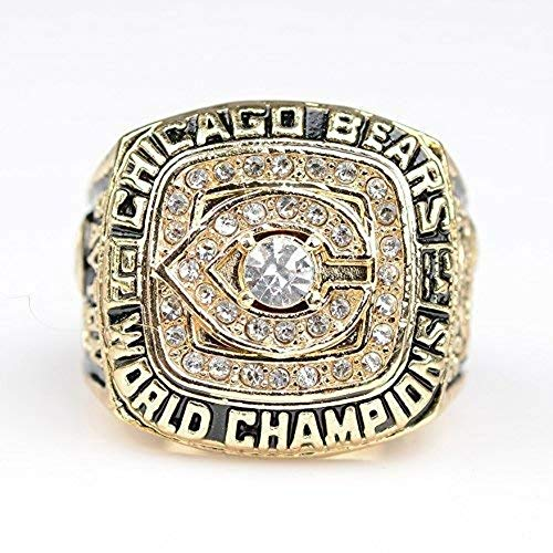 Chicago Bears Super Bowl XX 1985 Ring sz 11 Walter Payton (11)