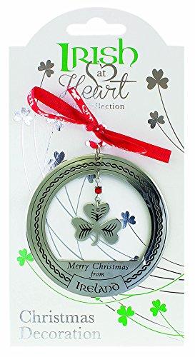 Irish Heritage Christmas Decoration Shamrock