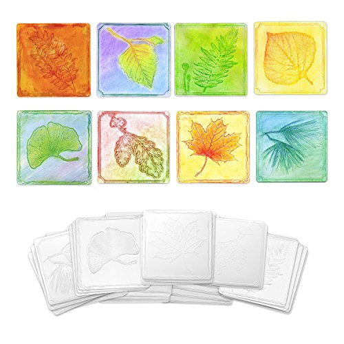 Creativity Street Leaf Set Embossed Paper, 24-Pieces