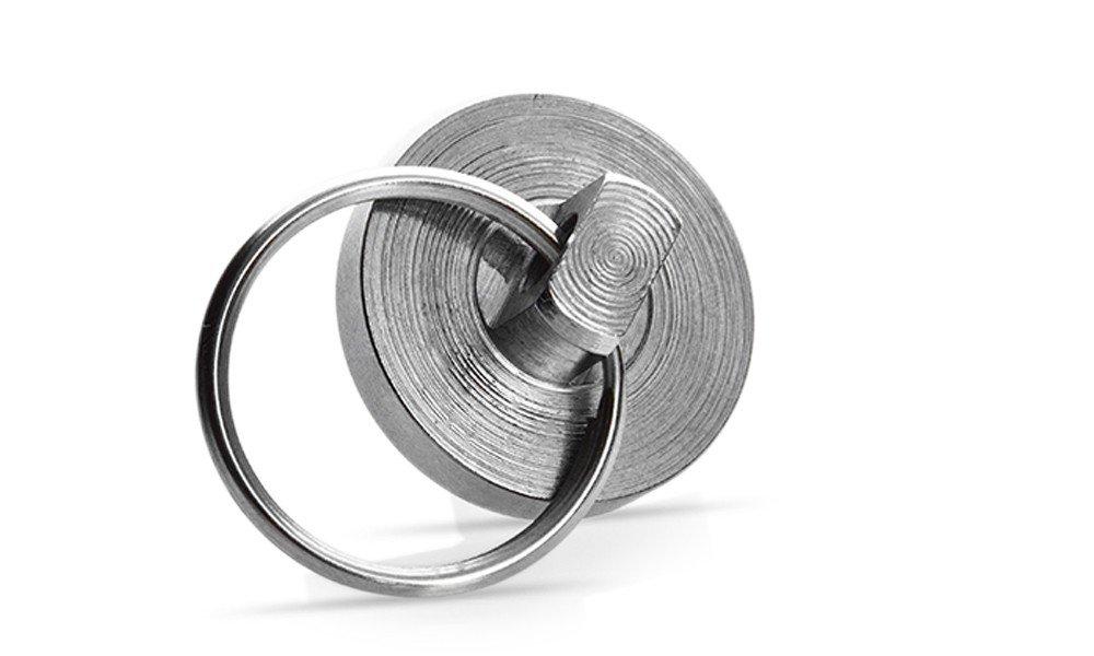 Haushalt Scheibenmagnet mit Schl/üsselring Neodym Magnet Schl/üsselanh/änger D=28mm Schl/üssel
