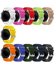 Syxinn Compatibel met armband Galaxy Watch 3 45 mm/Gear S3 Frontier/Classic 22 mm vervangende horlogeband siliconen sportarmband voor Galaxy Watch 46 mm/Moto 360 2nd Gen 46 mm