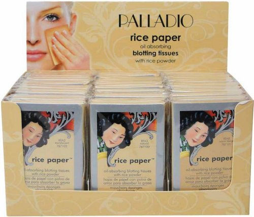 Palladio Rice Paper Oil Absorbing Blotter Tissues - Buy