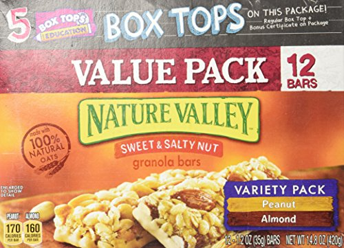 Nature Valley, Granola Bars, Sweet & Salty Nut, Variety Pack -12 bars by Nature Valley (Image #4)