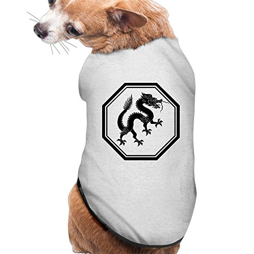 Dragon Quest 8 3ds Costumes (Dog Clothes Dragon Logo Pet Clothing Jackets Cute Polyester Fiber Dog Sweater Dog Shirt)