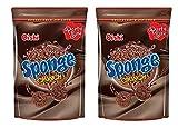 Oishi Sponge Crunch Chocolate Flavor 120g, 2 Pack