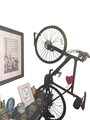 (Caden Vertical Front Wheel Bicycle Wall Mount - The)