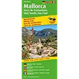 Mallorca - Serra de Tramuntana Sur/Süd /South/Sud: Wanderkarte /Hiking Map mit Mountainbike-Touren, wetterfest, reissfest, abwischbar, GPS-genau. 1:25000 (Wanderkarte / WK)