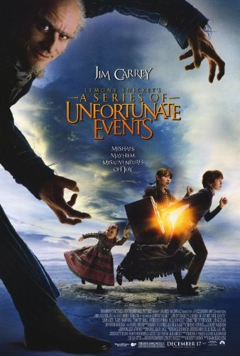 Lemony Snicket's A Series of Unfortunate Events Poster Movie 2004 Style B