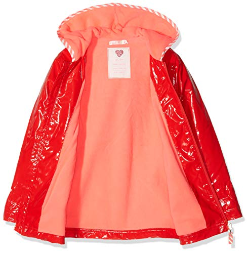 992 Fille Rouge Cire Billieblush Manteau rouge Imperméable Orange zw1x0tq
