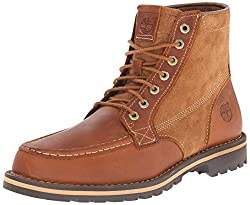 Timberland Men's Grantly 6 Inch Boot, Dark Brown Oiled Fog/Suede, 8 M US