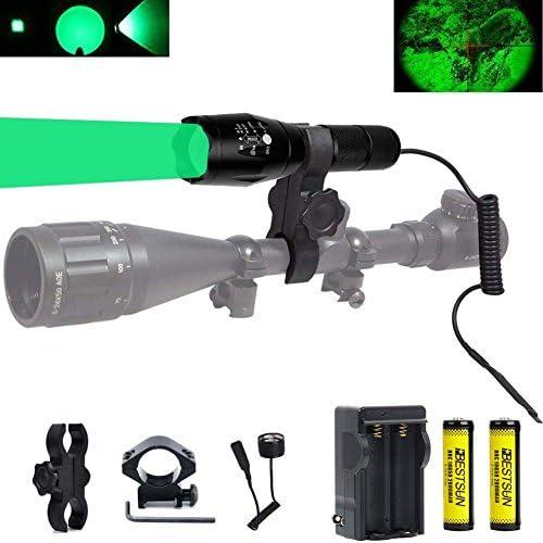 BESTSUN Predator Flashlight Picatinny Batteries product image
