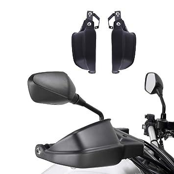 XX ecommerce motocicleta Mango Bar Mano Vigilan mano protección freno embrague - Wind Cartel para Kawasaki Versys 650 1000 Z900: Amazon.es: Coche y moto