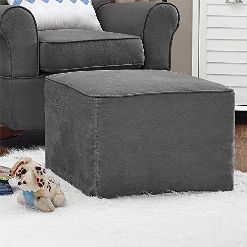 baby-relax-the-mackenzie-microfiber-plush-nursery-ottoman-grey