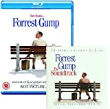 Forrest Gump - Movie and Soundtrack Bundling - Blu-ray and CD