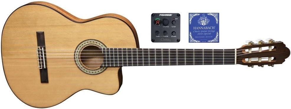 Miguel J. Almeria S – Guitarra acústica Classic premium de 10 cfeq ...