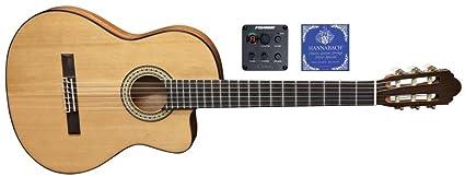 Miguel J. Almeria S – Guitarra acústica Classic premium de 10 cfeq