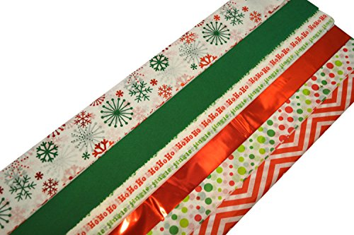 Christmas Tissue Paper Sheet Assortment