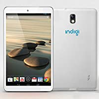 Indigi White 7 Android 4.2 Tablet Leather Back Dual Camera WiFi HDMI Google Play Store