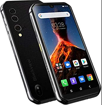 Imagen Térmica Móvil Resistente (2020) Blackview BV9900 Pro, Helio P90 8GB+128GB, Cámara AI de 48MP, Smartphone Antigolpes IP68, 5.84 FHD+ Gorilla Glass 5, Carga Inalámbrica NFC Doble SIM Plata: Amazon.es: Electrónica
