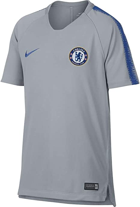 Nike 2018-2019 Chelsea Training Football Soccer T-Shirt Camiseta ...