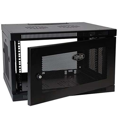 Tripp Lite 6U Wall Mount Rack Enclosure Server Cabinet, 20.5 in. Deep, Switch-Depth (SRW6UDP) by Tripp Lite (Image #1)
