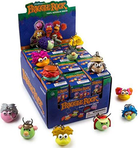 Fraggle Rock Kidrobot Series Blind Box Mini Figure Keychain 1 Full Case of 24 Blind Boxes by Fraggle Rock (Image #1)