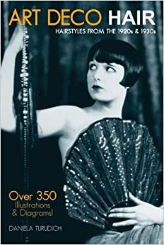 1920s Fashion & Clothing | Roaring 20s Attire Art Deco Hair: Hairstyles from the 1920s & 1930s (Vintage Living) $18.09 AT vintagedancer.com