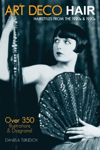 Art Deco Hair: Hairstyles from the 1920s & 1930s (Vintage Living) (1920 Hairstyles For Long Hair)