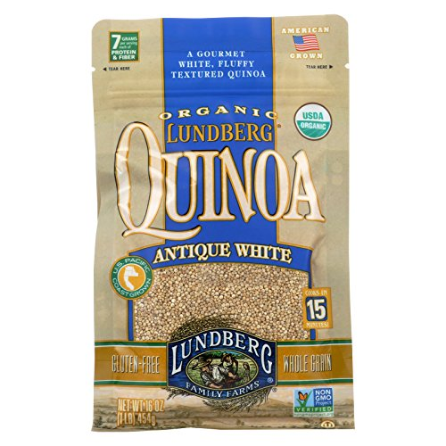 Lundberg Family Farms Organic California White Basmati Rice - Case of 6 - 1 lb. by Lundberg