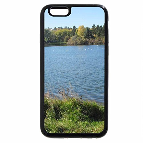 iPhone 6S / iPhone 6 Case (Black) Freedom at the lake