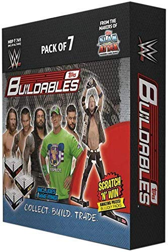Amazon.com: Topps India WWE Buildables, Pack of 2: Toys & Games