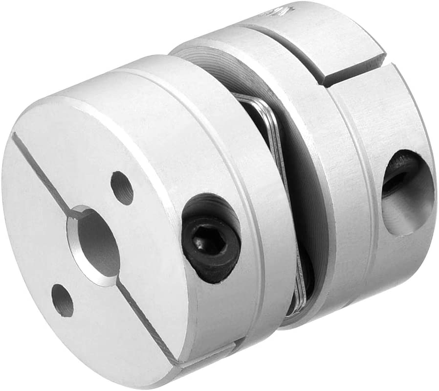 uxcell 6mm to 6mm Bore L26xD26 1 Diaphragm Motor Wheel Flexible Coupling Joint