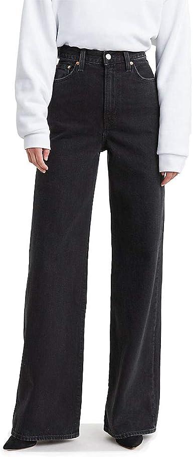 Amazon Com Levi S Ribcage Pantalones De Pana Para Mujer Slim 30 Cintura X 34 Largo Clothing