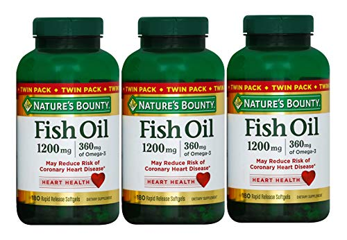Nature's Bounty Fish Oil 1200 (540 Count)