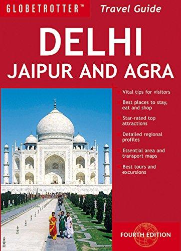 Delhi Agra Jaipur Travel Pack, 4th (Globetrotter Travel Packs)