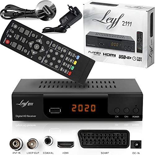 Kabelreceiver Kabel Receiver Für Digitales Kabelfernsehen Leyf Combo Dvb C Und C2 Hdtv Dvb T T2 Hdmi Scart Usb 2 0 Wlan Optional Hdmi Kabel Heimkino Tv Video