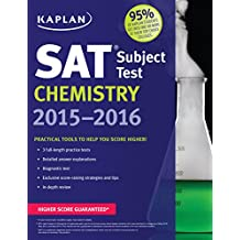 Kaplan SAT Subject Test Chemistry 2015-2016 (Kaplan Test Prep)