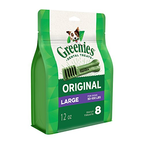 Greenies Original Large Dog Dental Chews Dog Treats