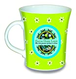 "Divinity Boutique ""Faith Hope and Love"", 1 Corinthians 13:13 Ceramic Mug, Peacock, Multicolor"