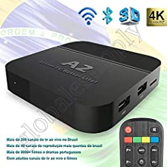 2019 An unprecedented super experience Brazil TV box,Different from previous products, the signal is more stable and the picture is clearer. Most channels are 4K and 1080P.Ability to receive 200+ Brazilian TV channels,Covered: news, finance, ...